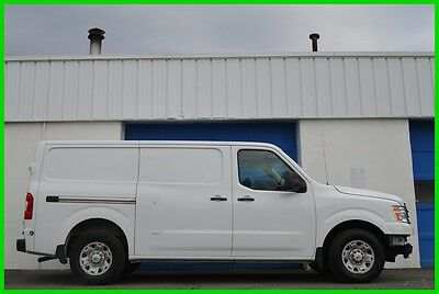 2013 Nissan NV NV3500 HD 5.6L V8 Professional Partition Shelving Repairable Rebuildable Salvage Runs Great Project Builder Fixer Easy Fix Save