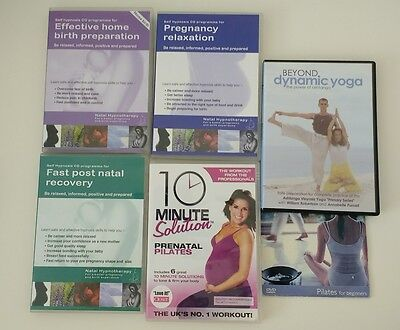 hypnobirthing cds and pre/post natal dvds