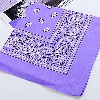 New Paisley Handkerchief Cotton Wristband Bandana Neck Handkerchief Head Wrap