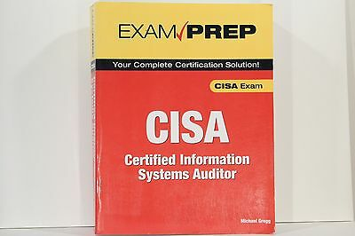 Exam Prep CISA: Certified Information Systems Auditor by Michael Gregg Paperback