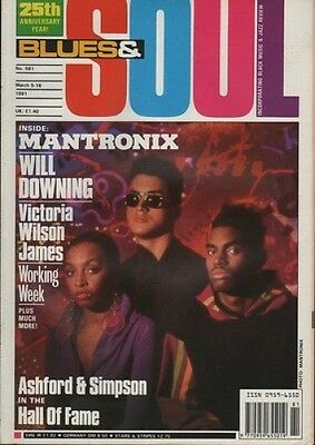 Mantronix Blues & Soul 1991  Ashford & Simpson  Will Downing The Wooten Brothers