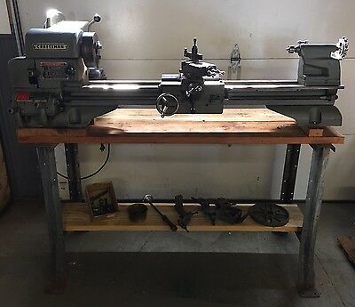 "Vintage Craftsman 12"" Metal Lathe 101-28910 Nice Tight Machine Homeowner Used !!"