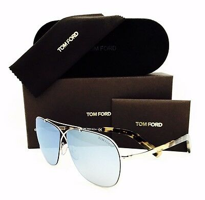 a591e84c20a6 NEW TOM FORD Sunglasses April TF 393 28X Rose Gold 61•10•145 With ...