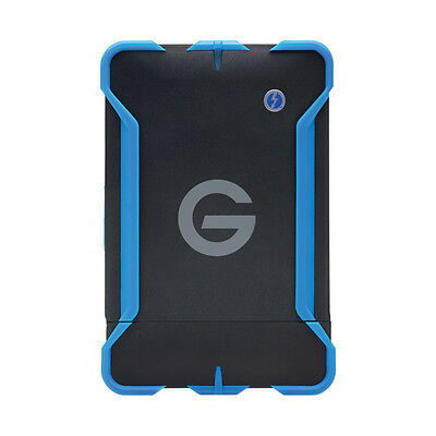 G-Tech Gdrive 1Tb Atc Thunderbolt Drive/shock Resistant/water Protection/new