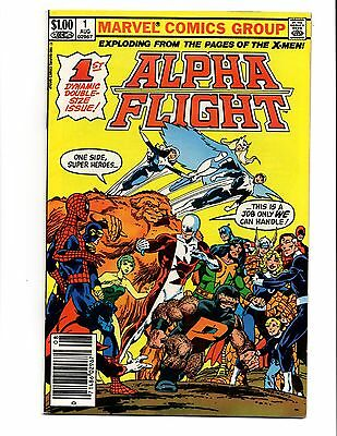 Alpha Flight 1 Key Nice Rare Newsstand Variant John Byrne 1983