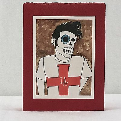 Handcrafted Decorative Art Frame Dia De Los Muertos Day Of The Dead