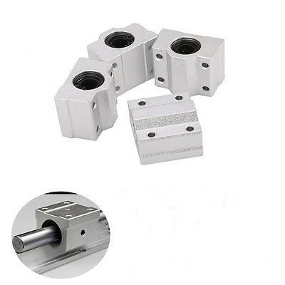 4 PCS SC8UU 8mm Linear Motion Ball Bearing Slide Unit Bushing US STOCK