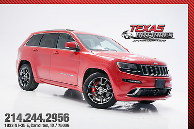 2014 Jeep Cherokee SRT8 2014 Jeep Grand Cherokee SRT8! srt-8! 6.4L 392 hemi v8! AWD! MUST SEE!