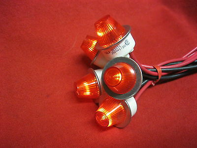 Neon Indicator Pilot Panel Signal Lamp Red Light AC 250V 1/2 watt lot of 5
