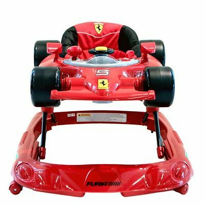 Brand New In Boxes Ferrari Car Baby Walker with activity Play Centre
