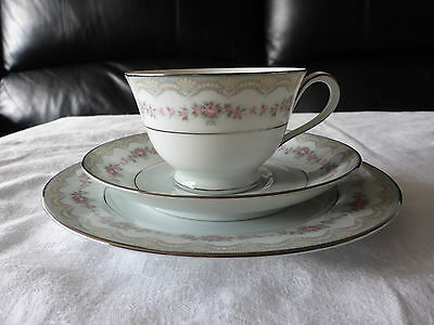 Noritake Glenwood 5770 Cup Saucer Plate Trio Replacement Pieces