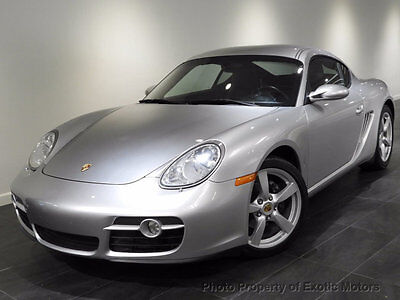 2007 Porsche Cayman 2dr Coupe 2007 PORSCHE CAYMAN 5-SPEED HEATED-SEATS BOSE XENONS PREFERRED-PKG-PLUS MSRP$54k
