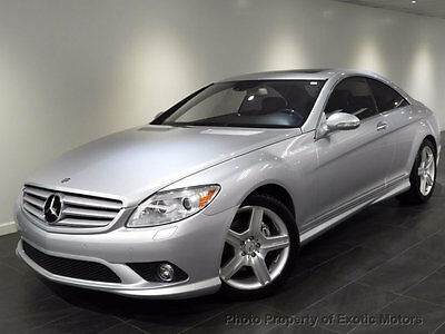 2007 Mercedes-Benz CL-Class CL550 Coupe 2007 MERCEDES CL550 COUPE NAV REAR-CAMERA P01/SPORT-PACKAGE A/C&HEATED-SEATS