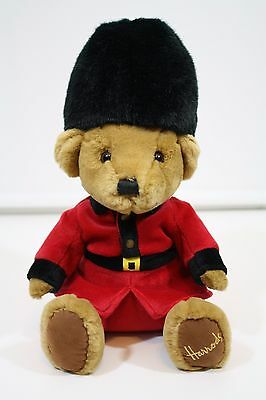 Harrods Teddy Bear Plush London Stuffed Animal Toy Red Suit