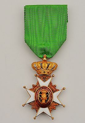 Sweden Swedish Rare Order Of Vasa,  Knight 1St Class Gold
