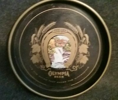 VINTAGE 1950's OLYMPIA BEER TRAY VERY COLLECTABLE