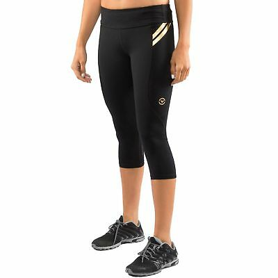 Virus Womens Bioceramic Compression Crop Pant (EAU8)