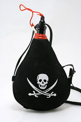 1 Spanish Bota de Vino X 1 LITER - PIRATE LATEX Bag Wine Skin 1 Liter Wineskin