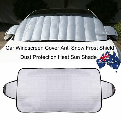 Universal Car Van Windscreen Frost Cover Protector Screen Snow Winter ProtectiAJ
