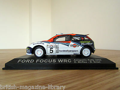 Ford Focus WRC - Acropolis Rally 2002 - C.McRae - N.Grist - 1/43 scale model