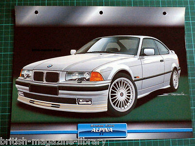 1994 Alpina B8 / BMW E36 - Dream Cars Atlas Edition