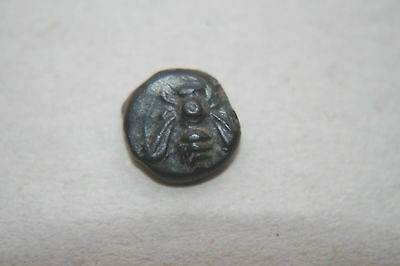 QUALITY ANCIENT GREEK BRONZE EPHESOS COIN 3rd CENTURY BC