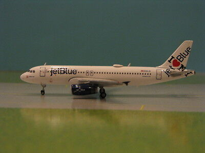 "Gemini Jets Jet Blue ""i Love New York"" A320 1:400 Scale Diecast Model"