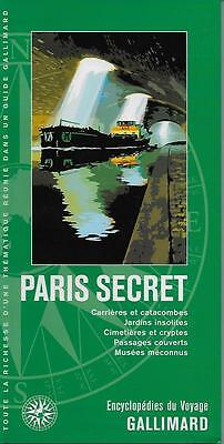 Encyclopedies Du Voyage / Paris Secret - France  - Tourisme - Guide - Carte