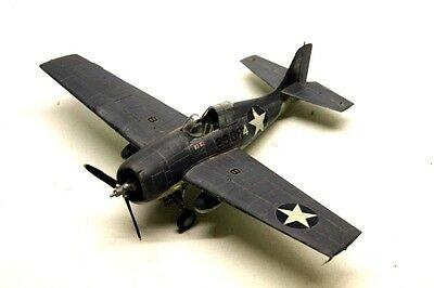 WW2 AMERICAN NAVY FIGHTER Plane Collectable KIT BUILD MODEL 1/48 Q6