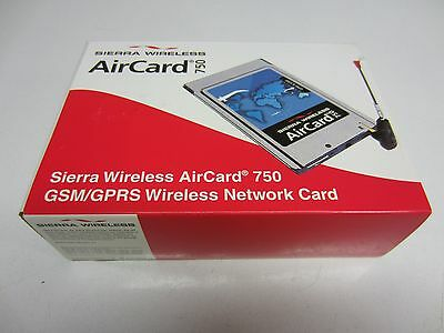 Brand New Boxed Sierra Wireless AirCard 750 GSM/GPRS Wireless Network PCMCIA