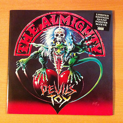 "THE ALMIGHTY "" Devil's Toy "" - Vinyl 12"" Limited Edition, Poster Sleev - 1991 UK"