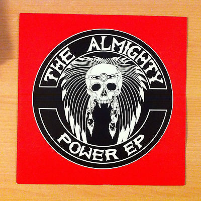 "THE ALMIGHTY  "" Power EP "" - Vinyl  12"" - Polydor ‎ PZ 66 / 873 607 1- 1990 UK"