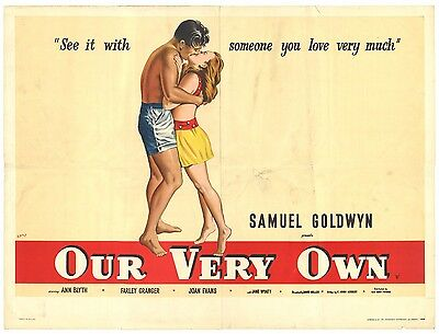 Our Very Own 1950 British Quad Movie Poster