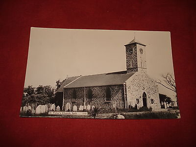 VINTAGE CHANNEL ISLANDS: SARK St Peter's church RP b&w