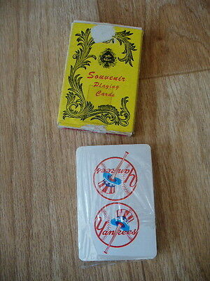 Vintage New York 'Yankees' Souvenir Playing Cards (NEW & SEALED)