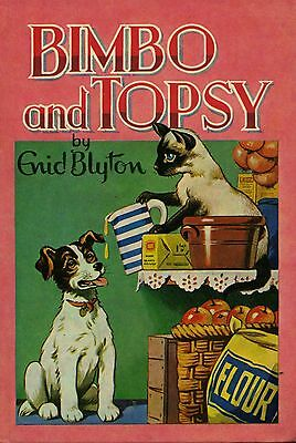 Bimbo and Topsy by Enid Blyton FREE AUS POST Used Vintage Illustrated Hardcover