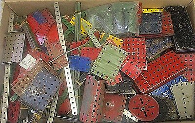 HUGE JOB LOT OF Approx 12KG  / 28lbs VINTAGE OLD MECCANO