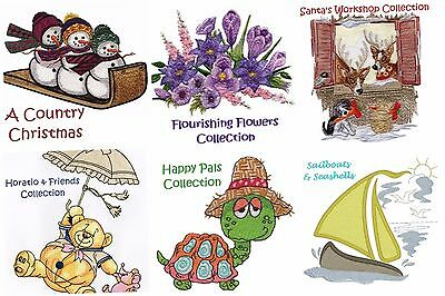 Special Offer Of **any 5 Collections**  - Machine Embroidery Designs On 5 Cds