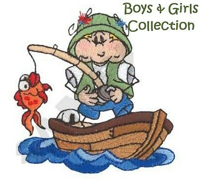 Boys & Girls Collection - Machine Embroidery Designs On Cd