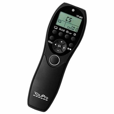 YouPro YP-880/S2 Wired Timer Remote for Sony A58 NEX-3N A7 A7R A6000 RX100 III