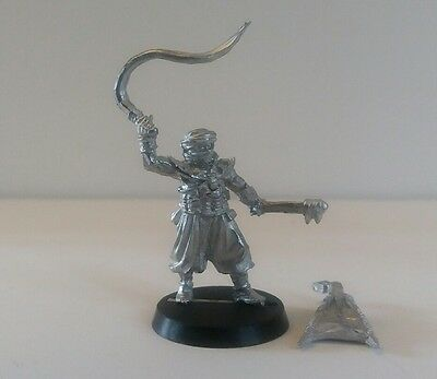 games workshop Lord of the rings  metal harad command task master