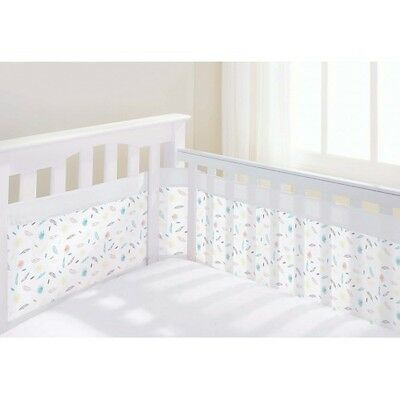 Breathable Baby Mesh Airflow Cot Liner Four Sided - Marabou