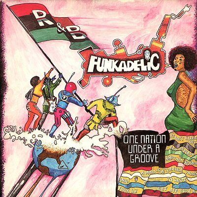 Funkadelic One Nation Under A Groove New Sealed Vinyl Lp & 7'' Reissue In Stock