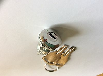 Practical durable 2 positon on/off key switch with 2 keys