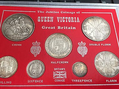 1887 Jubilee coinage of Queen Victoria Silver Offers welcome