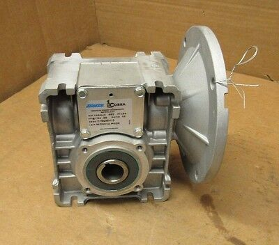Morse Cobra C18Q56H15 Aluminum Right Angle Gearbox Speed Reducer 15:1 462 In/lb