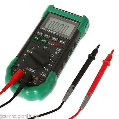MASTECH MS8268 Digital Multimeter  Fuse Capacitance Frequency Measurement Green