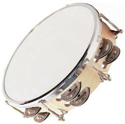 New GPTAT-10-2 10in Pro Tunable Tambourine 2X Row