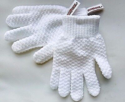 Soap & Glory Super Exfoliating Scrub Gloves ~ Smooth Your Body!  One Size