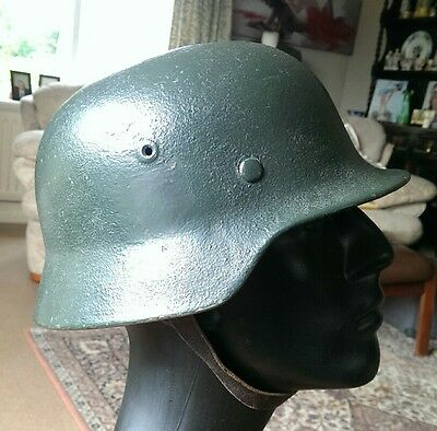 Genuine WW2 German M40 Helmet. ET66, Batch 240, 44 dated Liner. Size 57